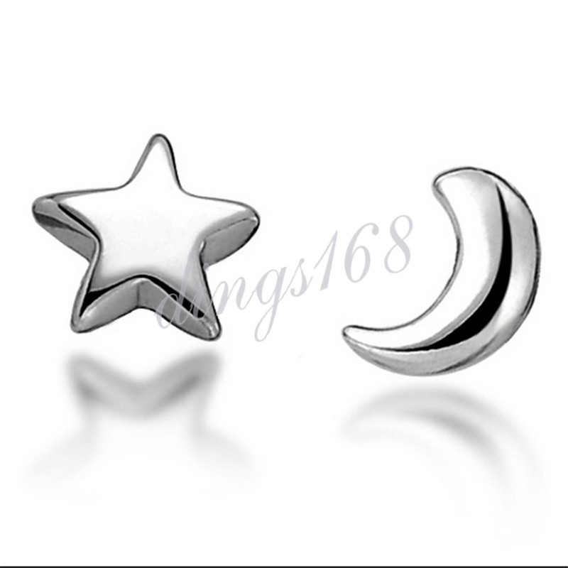 Adorable Flower Carved Fashion GENUINE 925 Sterling Silver Stud Earrings H784